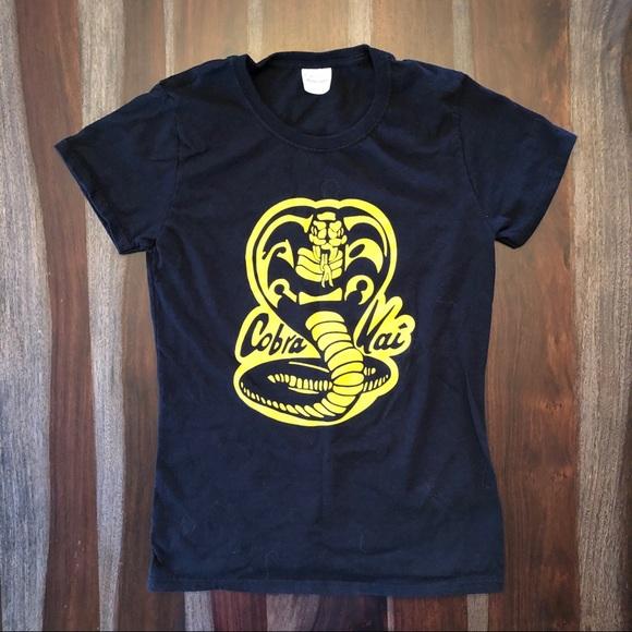 9a3b6a69 Gildan Tops | Cobra Kai Tee Karate Kid Size Small Black Yellow ...